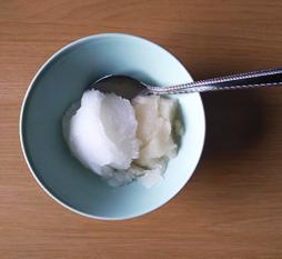sorbet bowl