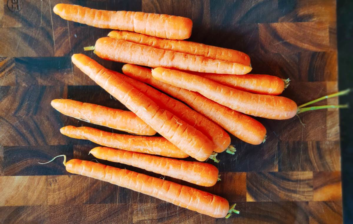Instant Pot Roasted Carrot Risotto