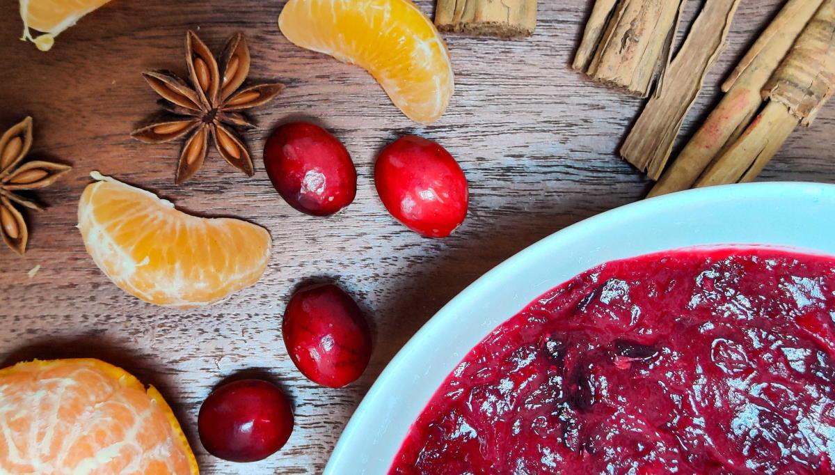Christmas Cranberry Sauce