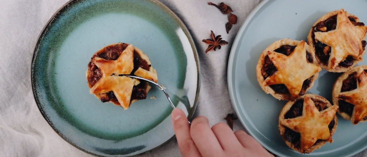 Clementine & Ginger Mince Pies